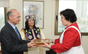 Two more Native American chiefs pledge support to Israel