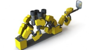 Artist's rendering of MiRobot